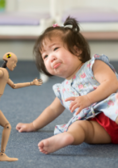 Imagine if we could instrument toddlers with the same accuracy of crash test dummies!  Is that a fake cry or did they really hit the floor at 50 mph?